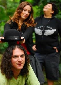 ECT (Eu, Chris e Taís) / Foto: Caíque Cunha