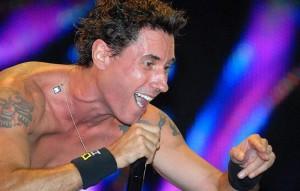 Dinho Ouro Preto, vocalista do Capital Inicial / Reprodução internet