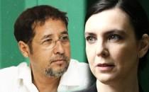 Julio Diniz e Adriana Calcanhotto