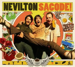 "Capa do CD ""Sacode"", do Nevilton"