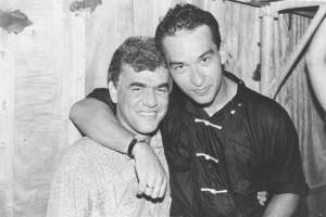 Jorge Davidson com Herbert Vianna