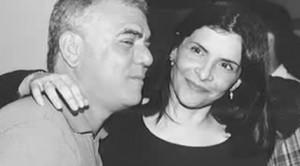 Jorge Davidson com Marina Lima