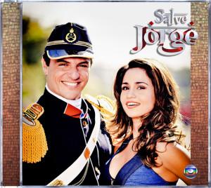 Capa da trilha sonora nacional de Salve Jorge