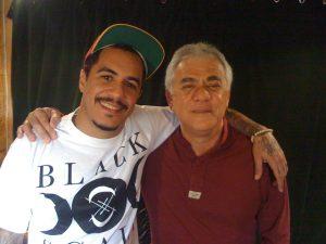Marcelo D2 e Jorge Davidson