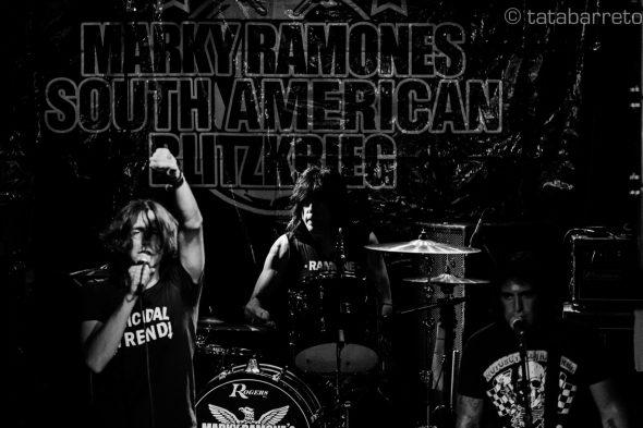 Marky Ramone por Tata Barreto