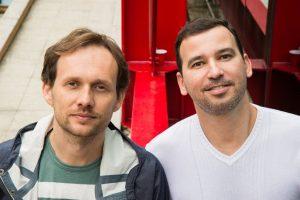Ricardo Gomes (esq.) e Rodrigo El- Hayck / Foto: Erika Tambke