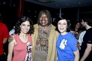Érika, Milton e Fernanda / Foto: Claudia Elias