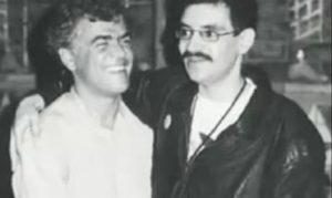 Jorge Davidson com Renato Russo