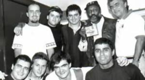 Jorge Davidson com o Skank
