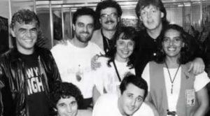 Jorge Davidson e Paul McCartney na mesma foto