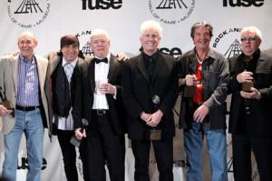 The Hollies no Hall of Fame - Reprodução da internet