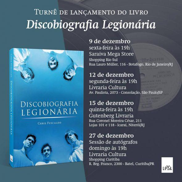 Lançamentos Discobiografia Legionária
