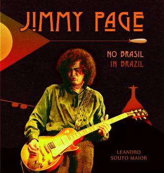 Capa Jimmy Page no Brasil